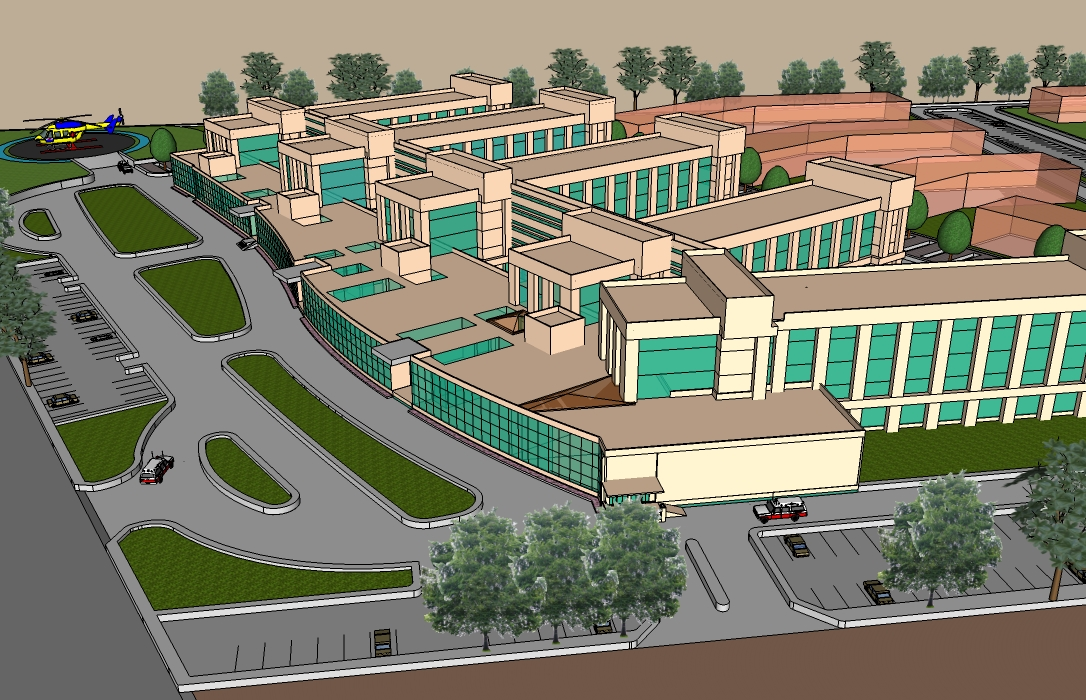 PROJECTS : Manchanda Associates - healthcare hospital